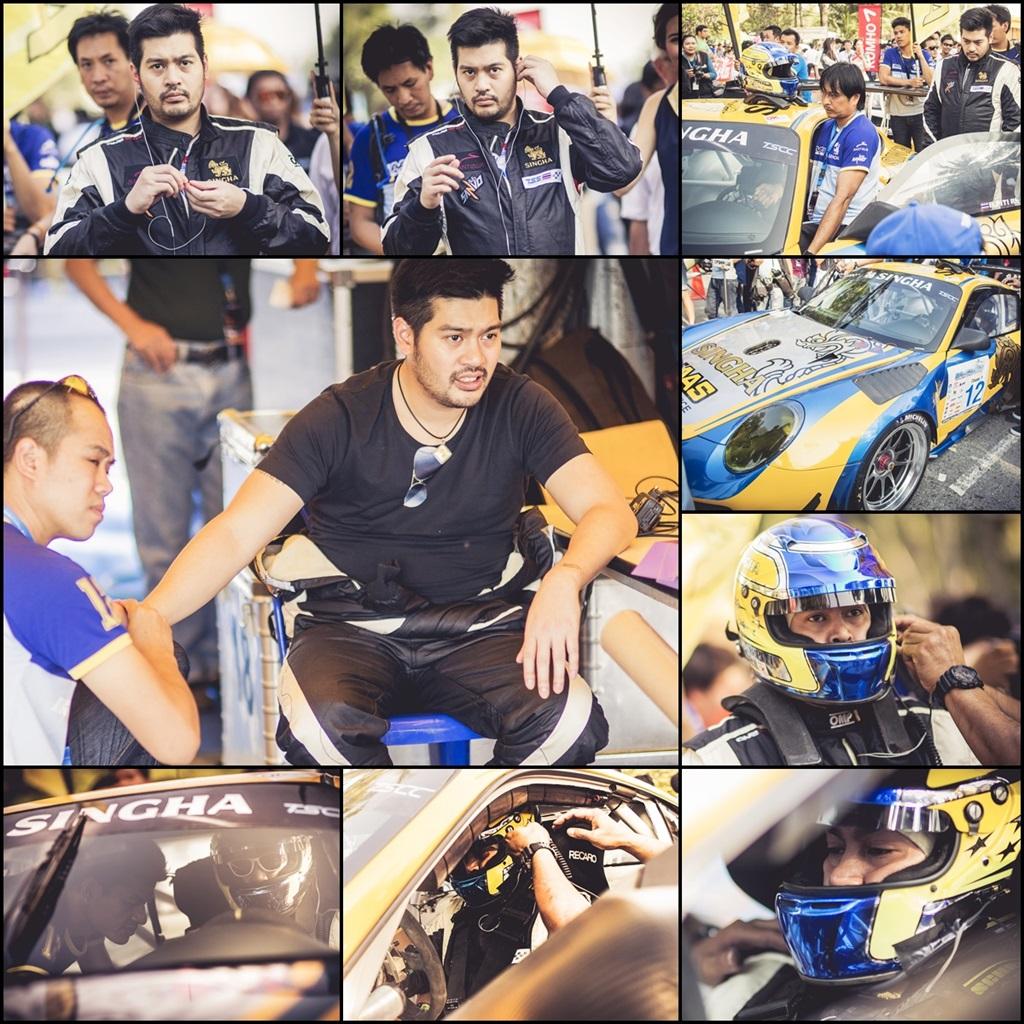 นักแข่ง Thailand Super Series